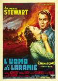 "Movie Posters:Western, The Man from Laramie (Columbia, 1955). Italian 2 - Folio (39"" X55"")...."