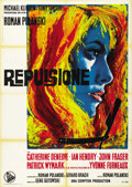 "Movie Posters:Drama, Repulsion (Dear Film, 1965). Italian 2 - Folio (39"" X 55""). ..."