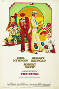 "Movie Posters:Crime, The Sting (Universal, 1974). Poster (40"" X 60""). ..."