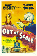 "Movie Posters:Animated, Out of Scale (RKO, 1951). One Sheet (27"" X 41""). ..."
