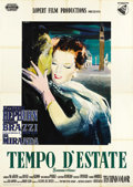 "Movie Posters:Romance, Summertime (United Artists, 1955). Italian 4 - Folio (55"" X78"")...."