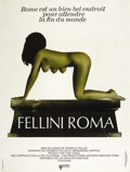 "Movie Posters:Drama, Fellini's Roma (United Artists, 1972). French Grande (47"" X 63""). Drama...."