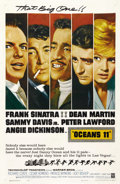 "Movie Posters:Crime, Ocean's 11 (Warner Brothers, 1960). One Sheet (27"" X 41""). ..."