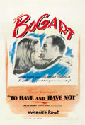 "Movie Posters:Romance, To Have and Have Not (Warner Brothers, 1944). One Sheet (27"" X41""). ..."