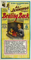 """Movie Posters:Western, Beating Back (Direct-From-Broadway Feature Film Company, 1914).Three Sheet (41"""" X 81""""). ..."""