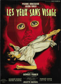 "Movie Posters:Horror, Eyes Without a Face (Lux Compagnie Cinématographique de France,1960). French Grande (47"" X 63""). ..."