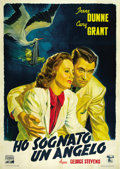 "Movie Posters:Drama, Penny Serenade (Columbia, 1941). Italian 2 - Folio (39"" X 55""). ..."