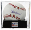 Autographs:Baseballs, Stan Musial Single Signed Baseball, PSA Gem Mint 10. Stan the Man,whose 24 All-Star appearances is staggering to say the le...