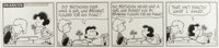 Charles Schulz - Peanuts Daily Comic Strip Original Art, dated 6-30-71 (United Features Syndicate, 1971)