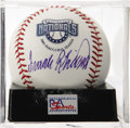 Autographs:Baseballs, Frank Robinson Single Signed Baseball, PSA Mint+ 9.5. The Hall ofFamer was the first manager of the Washington Nationals wh...