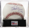 "Autographs:Baseballs, Bob Doerr ""HOF 86"" Single Signed Baseball, PSA Mint+ 9.5. TheBoston Red Sox Hall of Famer makes note of his induction date ..."