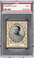 Baseball Cards:Singles (Pre-1930), 1909 T204 Ramly Charley O'Leary PSA NM 7....