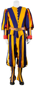 Movie/TV Memorabilia:Costumes, Angels and Demons Screen-Worn Swiss Guard Costume.... (Total: 11 Items)