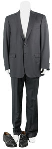 Movie/TV Memorabilia:Costumes, Angels and Demons - Stellan Skarsgård Screen-Worn Suit....