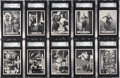 "Non-Sport Cards:Sets, 1966 Topps ""Superman"" Complete Set (66) - #1 on the SGC SetRegistry!..."
