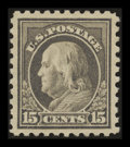 Stamps, 15c Gray (437),...