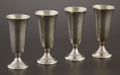 Silver & Vertu:Hollowware, A SET OF FOUR AMERICAN SILVER CORDIALS. Gorham Manufacturing Company, Providence, Rhode Island, circa 1980. Marks: GORHAM,... (Total: 4 Items)