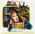 "Movie Posters:Horror, Curse of the Demon (Columbia, 1957). Six Sheet (81"" X 81"").. ..."