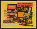 "Movie Posters:Rock and Roll, Don't Knock the Rock (Columbia, 1957). Half Sheet (22"" X 28"") StyleB. Rock and Roll.. ..."