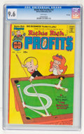 Bronze Age (1970-1979):Cartoon Character, Richie Rich Profits #12 File Copy (Harvey, 1976) CGC NM+ 9.6 Whitepages....