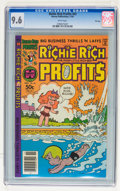Modern Age (1980-Present):Humor, Richie Rich Profits #43 File Copy (Harvey, 1981) CGC NM+ 9.6 Whitepages....