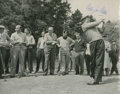 Golf Collectibles:Autographs, 1950's Billy Joe Patton Signed Photograph....