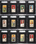 Baseball Cards:Lots, 1909-11 T206 White Border Southern Leaguers Partial Set (36/48)Plus Ten Brand Variations! ...