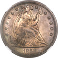 Proof Seated Dollars, 1858 $1 PR64 NGC....