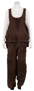 Movie/TV Memorabilia:Costumes, Alien 3 Stunt Double's Screen-Worn Costume.... (Total: 2Items)