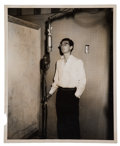 Music Memorabilia:Photos, Buddy Holly Rare Studio Photo....