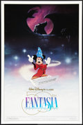 """Movie Posters:Animated, Fantasia (Buena Vista, R-1990). 50th Anniversary One Sheet (27"""" X41"""") DS . Animated.. ..."""