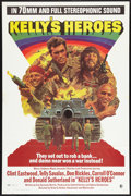 "Movie Posters:War, Kelly's Heroes (MGM, 1970). One Sheet (27"" X 41"") Road Show Style.War.. ..."