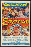 "Movie Posters:Historical Drama, The Egyptian Lot (20th Century Fox, 1954). One Sheets (2) (27"" X41""). Historical Drama.. ... (Total: 2 Items)"