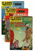 Golden Age (1938-1955):Classics Illustrated, Classics Illustrated Group (Gilberton, 1940s-60s) Condition:Average VG.... (Total: 18 Comic Books)