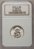Washington Quarters, 1935-S 25C MS67 NGC....