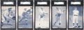 Baseball Cards:Lots, 1928 Exhibits Baseball Collection (19) With HoFers. ...