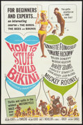 "Movie Posters:Comedy, How to Stuff a Wild Bikini Lot (American International, 1965). OneSheets (2) (27"" X 41""). Comedy.. ... (Total: 2 Items)"
