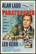 "Movie Posters:War, Paratrooper (Columbia, R-1958). One Sheet (27"" X 41""). War.. ..."
