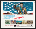 "Movie Posters:War, Patton (20th Century Fox, 1970). Half Sheet (22"" X 28""). War.. ..."