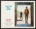 "Movie Posters:Western, Rio Lobo (National General, 1971). Half Sheet (22"" X 28""). Western.. ..."