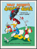 "Movie Posters:Animated, Donald's Golf Game (Circle Fine Arts, 1980s). Fine Art Serigraph (22.5"" X 30.5""). Animated.. ..."