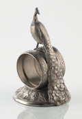 Silver Holloware, American:Napkin Rings, AN AMERICAN FIGURAL SILVER PLATE NAPKIN RING. Reed & Barton,Taunton, Massachusetts, circa 1875. Marks: MFG & PLATED BYRE...