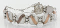 Silver Smalls:Other , A MEXICAN SILVER AND COPPER BRACELET. William Spratling, Taxco,Mexico, circa 1940. Marks: WS, SPRATLING, MADE INMEXI...