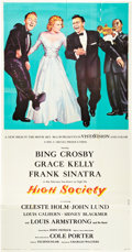 "Movie Posters:Comedy, High Society (Allied Artists, 1955). Three Sheet (41"" X 81"").. ..."