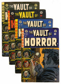 Golden Age (1938-1955):Horror, Vault of Horror Group (EC, 1953-54) Condition: Average VG-....(Total: 4 Comic Books)