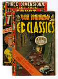 Golden Age (1938-1955):Miscellaneous, EC Comics 3-D Group (EC, 1954) Condition: Average GD.... (Total: 2 Comic Books)