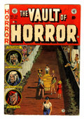 Golden Age (1938-1955):Horror, Vault of Horror #33 (EC, 1953) Condition: VG+....