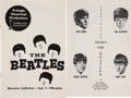 Music Memorabilia:Memorabilia, The Beatles Rare 1964 Milwaukee Auditorium Concert Program Book....