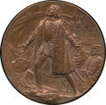 Expositions and Fairs, Eglit-90 1892-1893 St. Gaudens Award Medal, World's Columbian Exposition Medal MS65 Brown NGC. 76mm, copper....