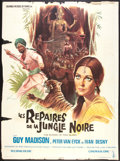 """Movie Posters:Adventure, The Mystery of Thug Island (Columbia, 1966). French Grande (47"""" X63""""). Adventure.. ..."""